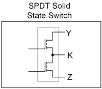 SPSDT Solid State Switch Diagram