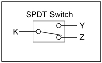 SPDT Switch Diagram