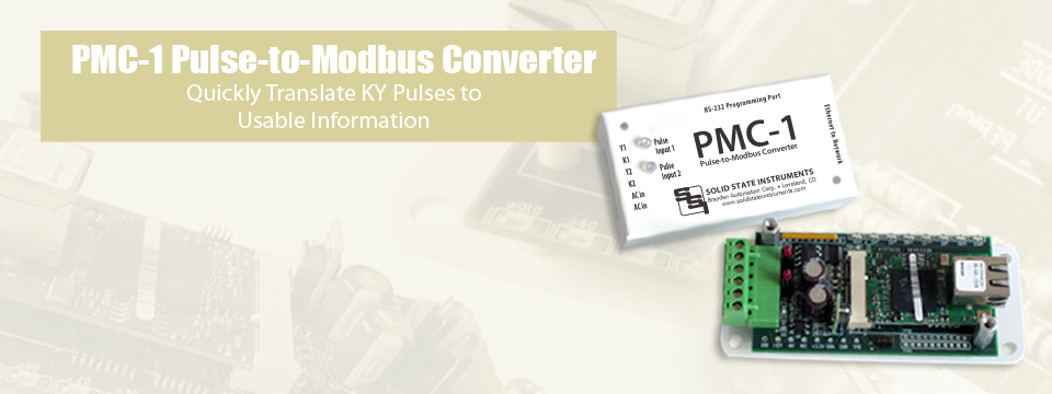 PMC-1 Pulse-to-Modbus